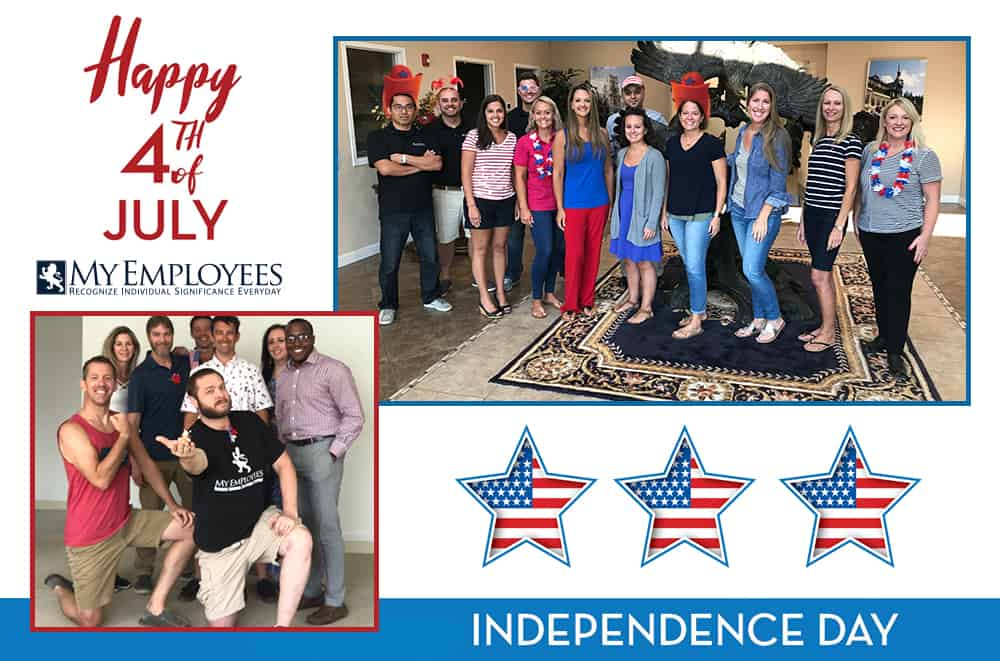 fourth of july indpendence day at myemployees